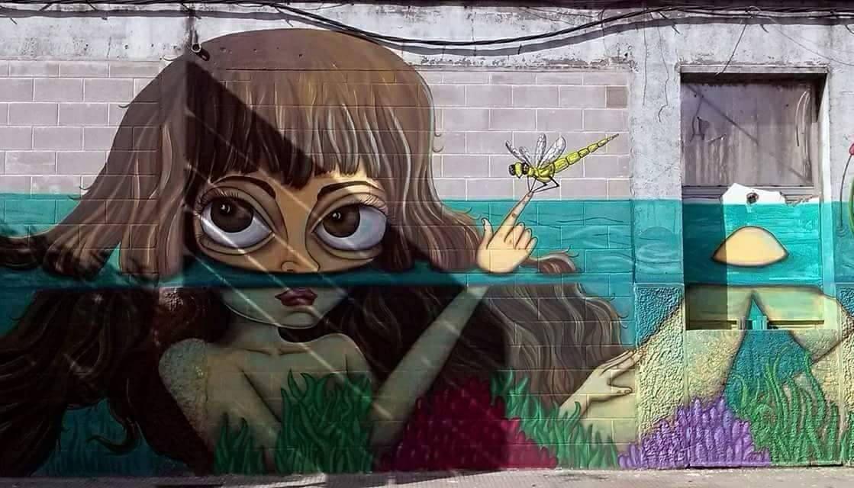 Foto principal mural Ofelia