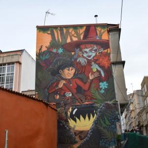 Foto mural A Eira das Meigas, 8 de 9