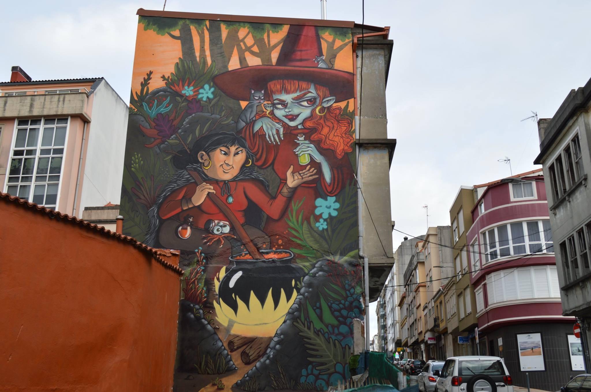Foto principal mural A eira das meigas