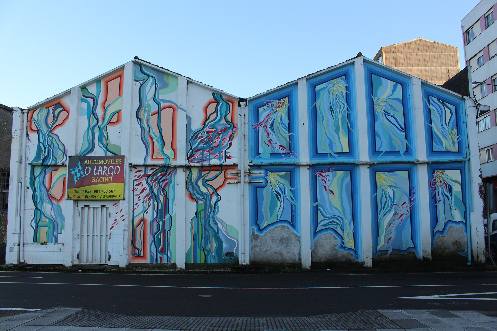 Foto principal mural A Harmonía do Contraste