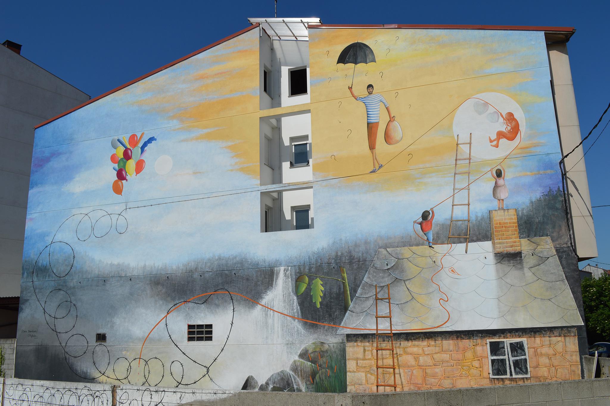 Foto principal mural Cara liberdade,