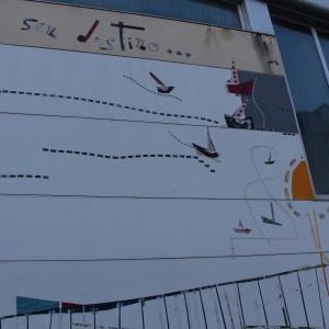 Foto mural Eu vivo nun bote no medio do mar, 2 de 6