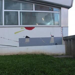 Foto mural Eu vivo nun bote no medio do mar, 4 de 6