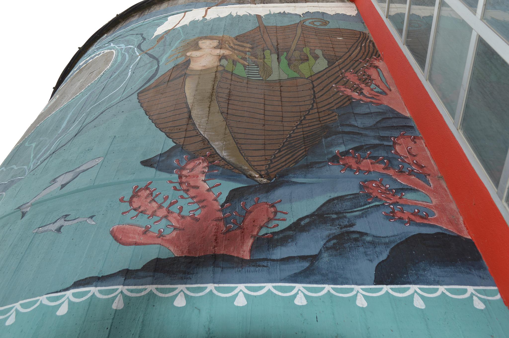 Foto principal mural Historias esquecidas no fondo do mar