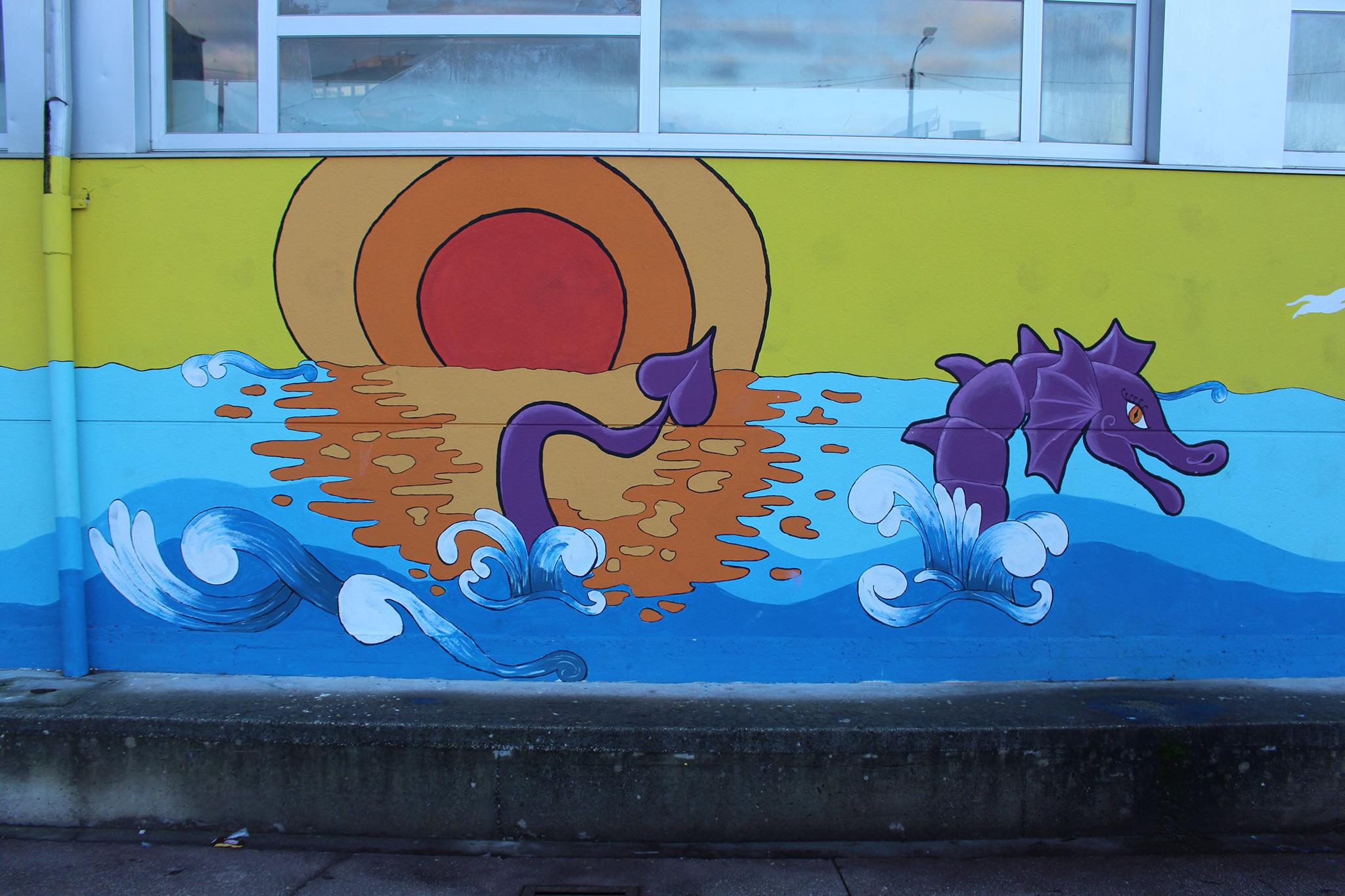 Foto principal mural Mar de lenda