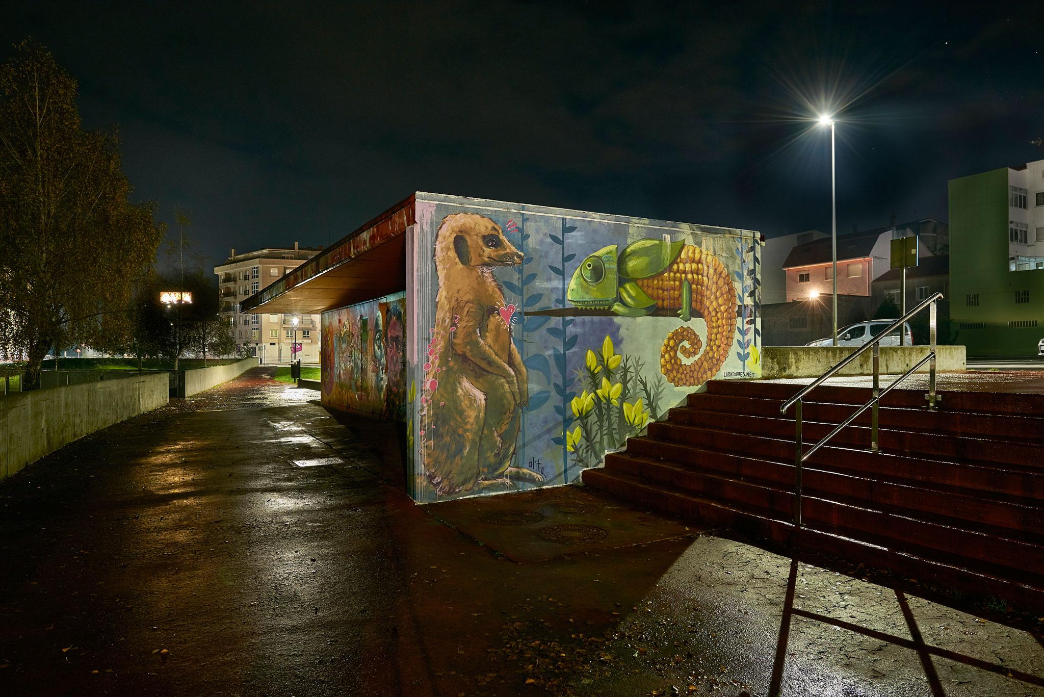 Foto principal mural MasterClass Rego da Balsa