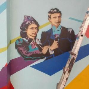 Foto mural MasterClass Stencil, 1 de 5