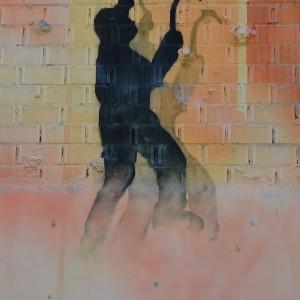 Foto mural O lapis do grafiteiro, 9 de 11