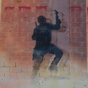 Foto mural O lapis do grafiteiro, 10 de 11
