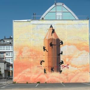 Foto mural O lapis do grafiteiro, 11 de 11