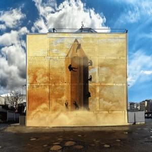 Foto mural O lapis do grafiteiro, 2 de 11