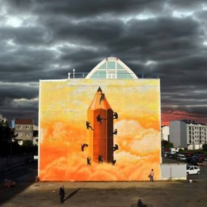 Foto mural O lapis do grafiteiro, 3 de 11