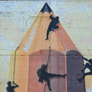 Foto mural O lapis do grafiteiro, 5 de 11