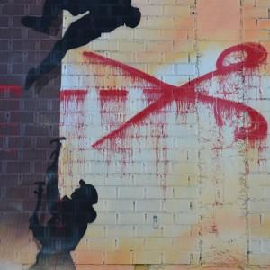Foto mural O lapis do grafiteiro, 6 de 11