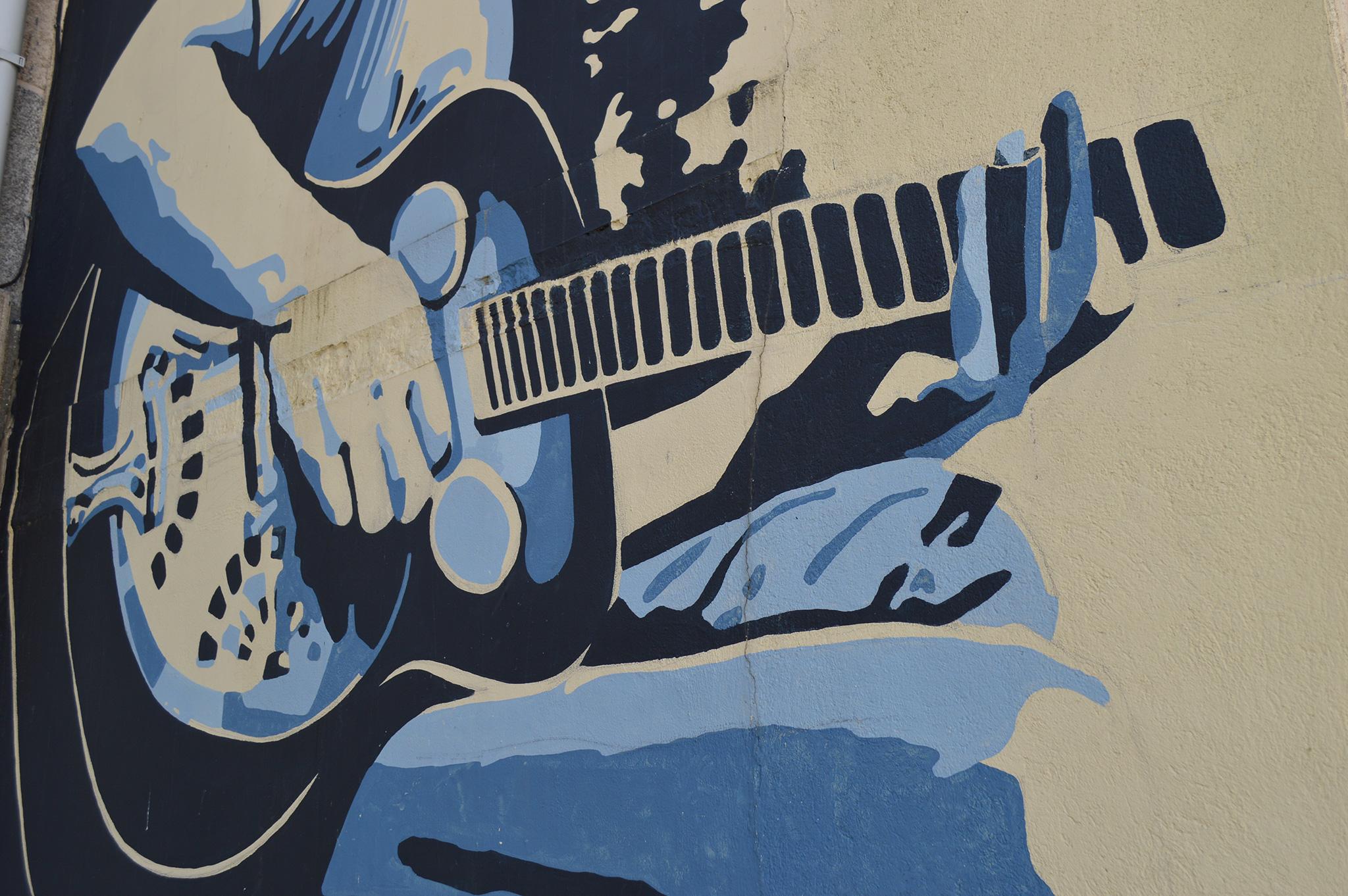 Foto principal mural O músico
