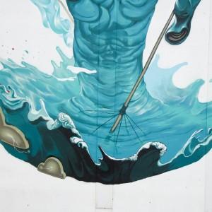 Foto mural o silencio no medio da tormenta, 4 de 9