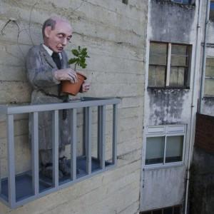 Foto mural Os veciños 2, 6 de 7