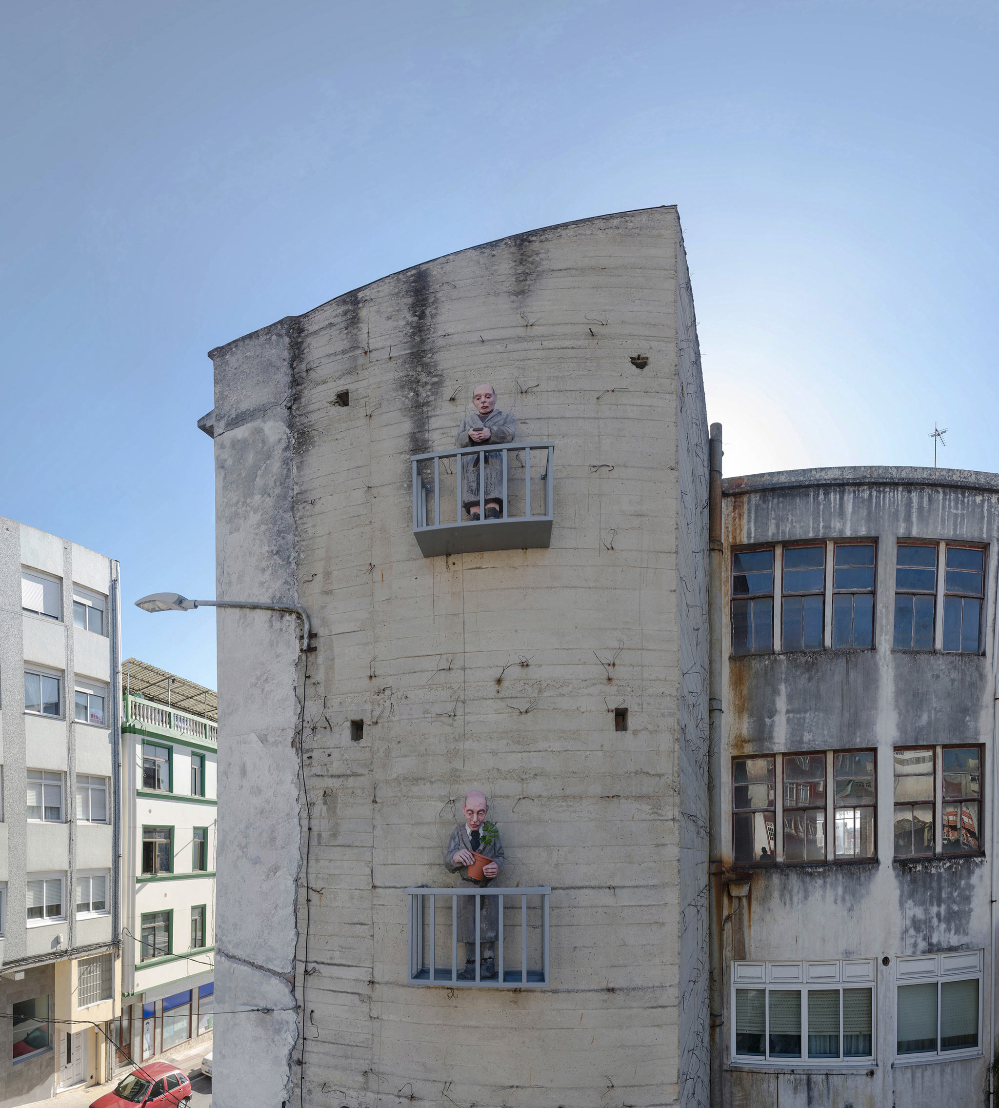 Foto principal mural Os veciños