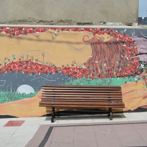 Foto mural Representación de Serpes de auga, 9 de 11