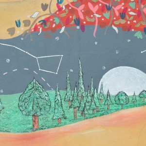 Foto mural Representación de Serpes de auga, 3 de 11