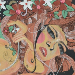 Foto mural Representación de Serpes de auga, 7 de 11