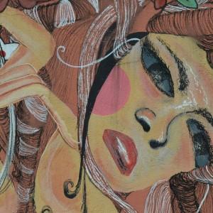 Foto mural Representación de Serpes de auga, 8 de 11