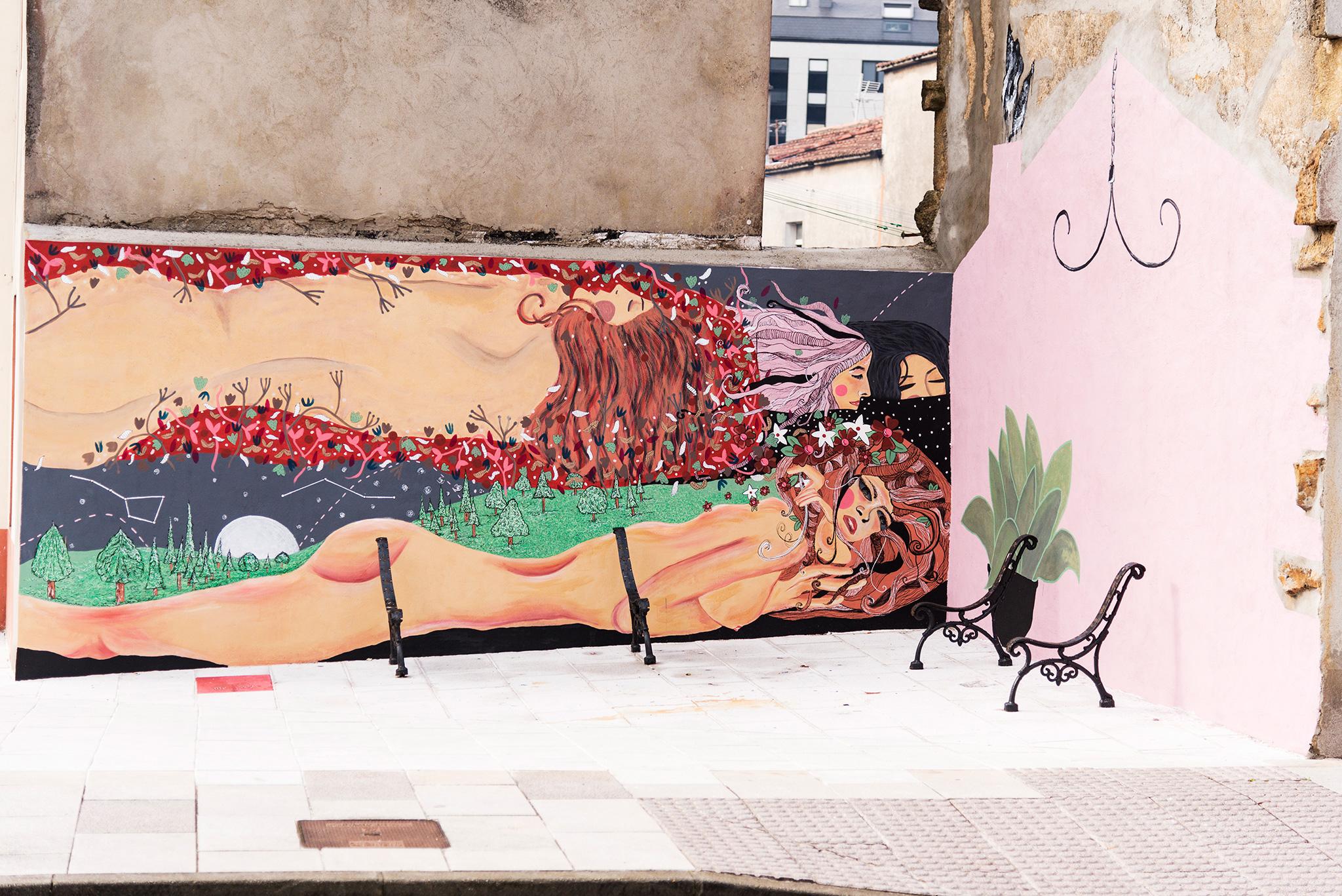 Foto principal mural Representación de Serpes de auga