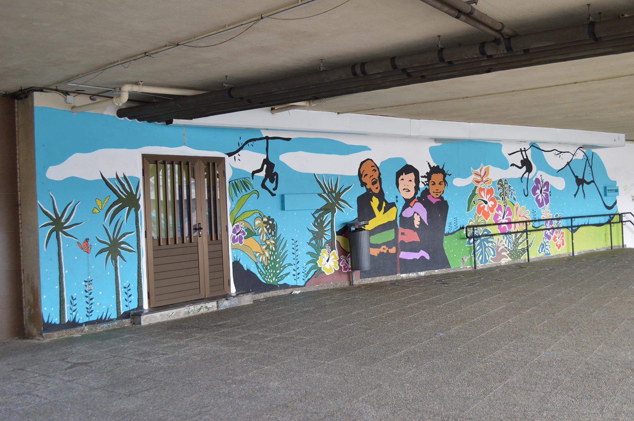 Foto principal mural Tempo de Lecer