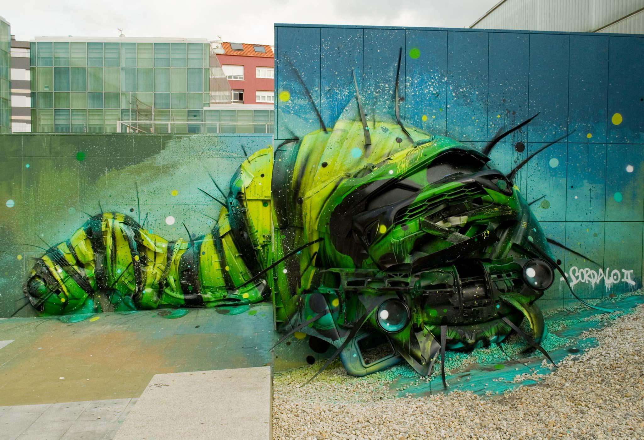 Foto principal mural Trasherpillar