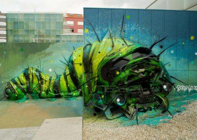 Trasherpillar - Bordalo II