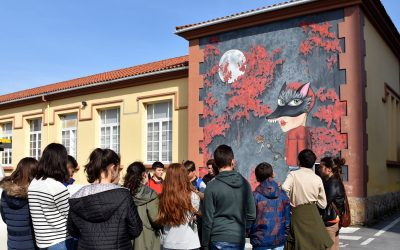 Would you like to discover Carballo's mural paintings?