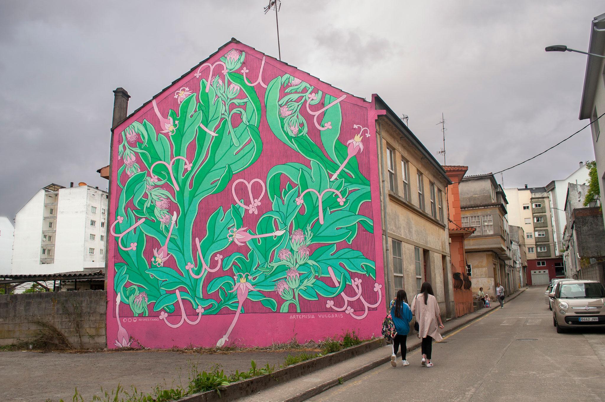 Foto mural principal Artemisia Vulgaris,