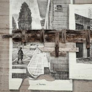 Foto mural Tachar as pintadas dunha rúa, 15 de 25