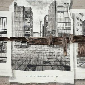 Foto mural Tachar as pintadas dunha rúa, 17 de 25