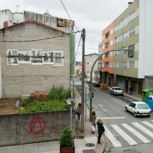 Foto mural Tachar as pintadas dunha rúa, 6 de 25
