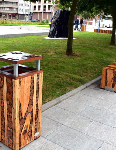 Mobiliario urbano de Fabián Lage