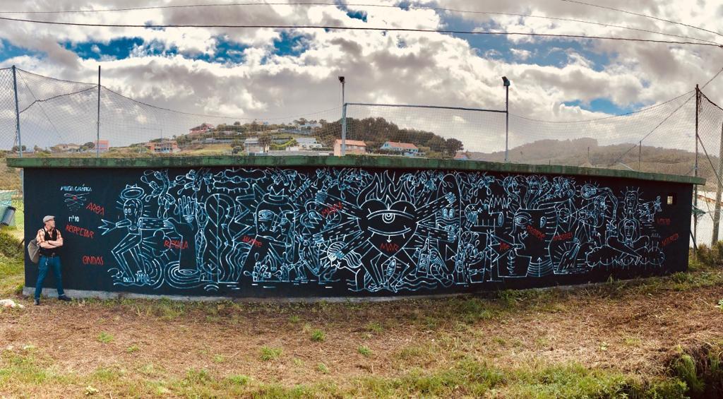Mural Razo - Derrubando 2019