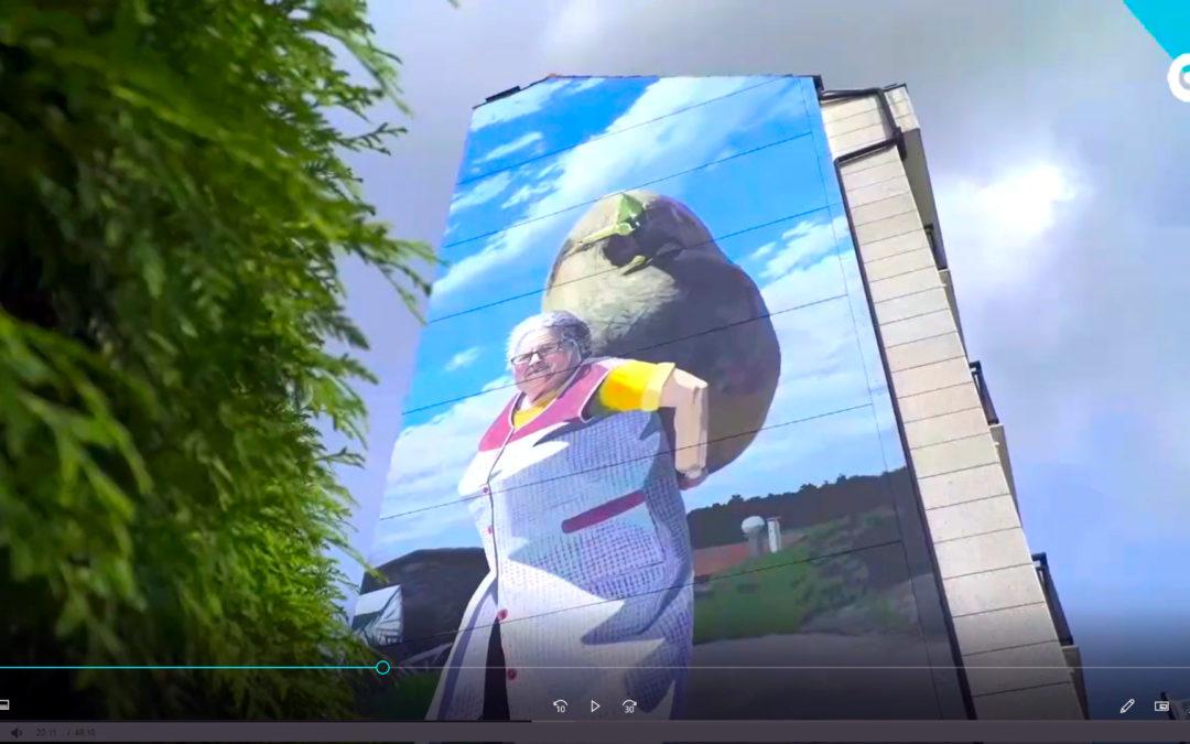 A arte urbana de Carballo en 360º