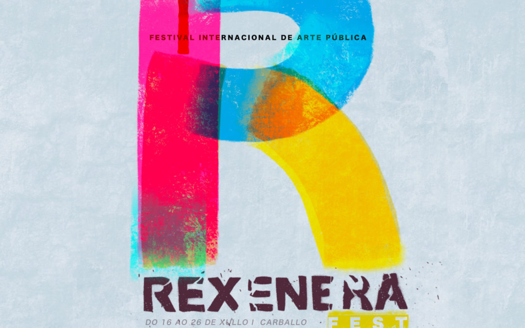 The Rexenera Fest fills with colours Carballo's summer
