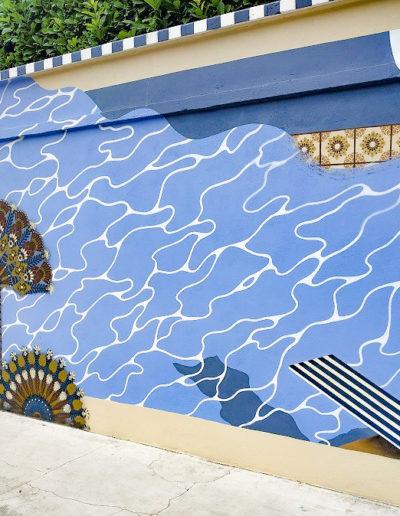 Mural de SupaKitch & Koralie