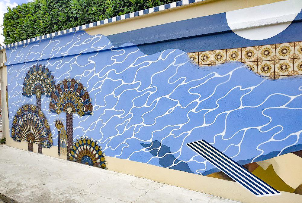 Carballo y Francia, unidos por el arte urbano