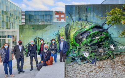 A arte urbana de Carballo convértese en obra de teatro