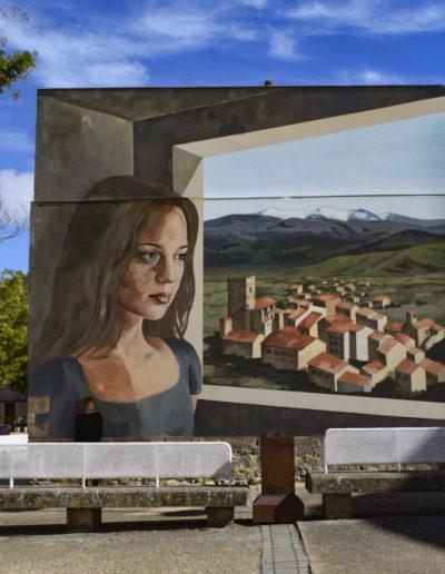 Mural de Marta Lapeña
