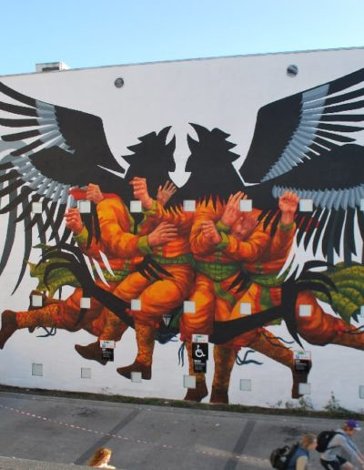 Mural de Franco Fasoli Jaz
