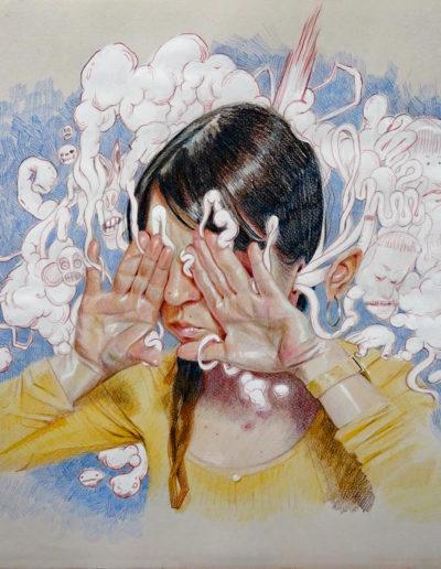 Mural de Ana Langeheldt - Acrobacia Visceral