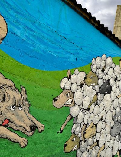 Mural de MØU