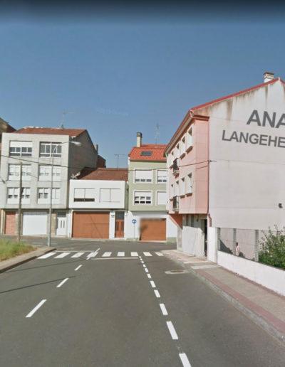 Mural de Ana Langeheldt - Rúa Río Mandeo