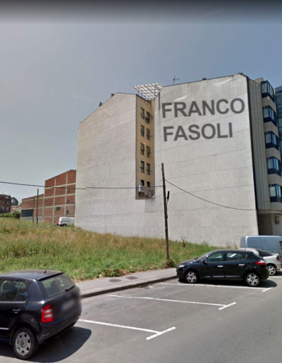 Mural de Franco Fasoli -Rúa Río Miño