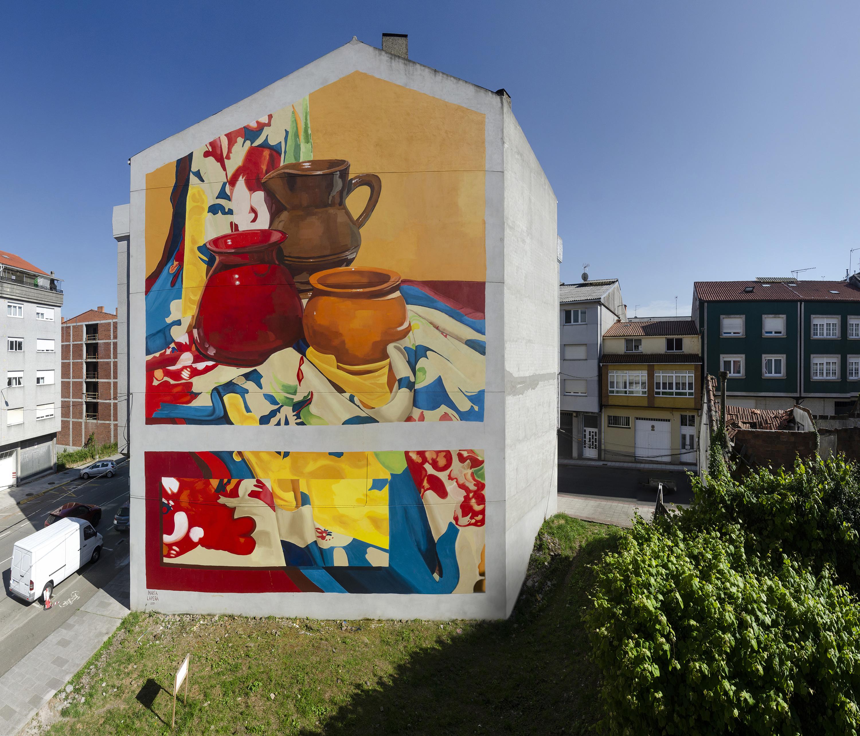 Homenaxe a Buño - Mural Marta Lapeña - FINAL