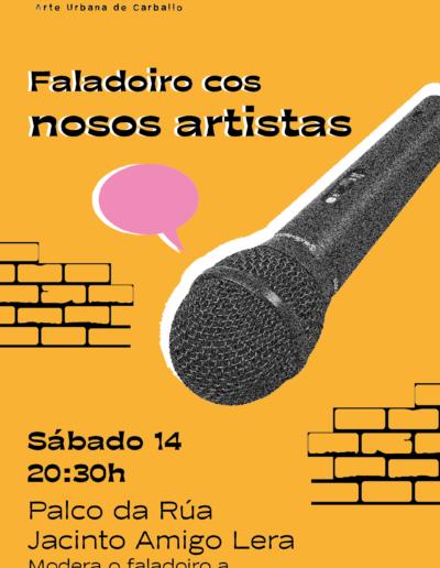 Derrubando muros - Edición Verán 2021 FALADOIROS